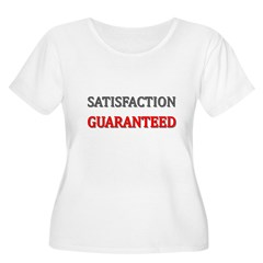 Satisfaction Guaranteed Shirt Women's Plus Size Sc