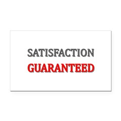 Satisfaction Guaranteed Shirt Rectangle Car Magnet