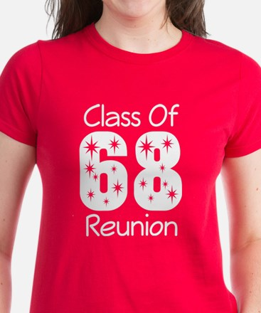 Class of 1968 Reunion Women's Dark T-Shirt