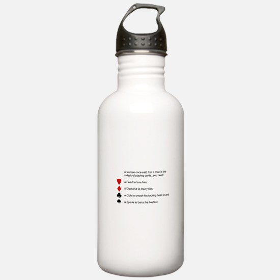 Funny women quotes Water Bottle