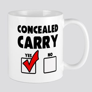 Concealed Carry YES Mug