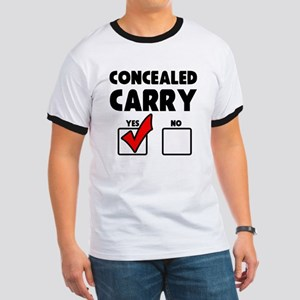 Concealed Carry YES Ringer T