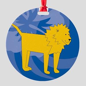 Lion Round Ornament