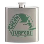 Green Surfers 10 Flask