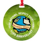 Earth Day Round Ornament