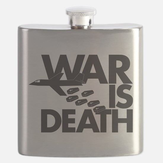 War is Death Flask