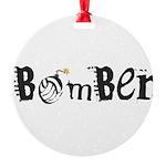 Bomber 10 Round Ornament
