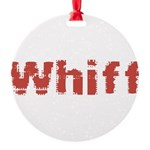 Whiff Round Ornament