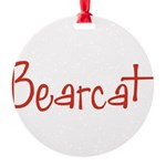 Bearcat10x8 Round Ornament