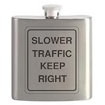 Slower Traffic 10 Flask