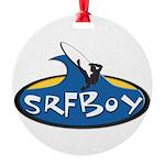 SRFBOY Round Ornament