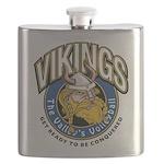 Vikings Logo Flask