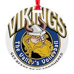 Vikings Logo Round Ornament