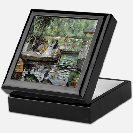 Pierre-Auguste Renoir La Grenouillere Keepsake Box