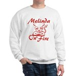 Melinda On Fire Sweatshirt