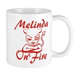 Melinda On Fire Mug