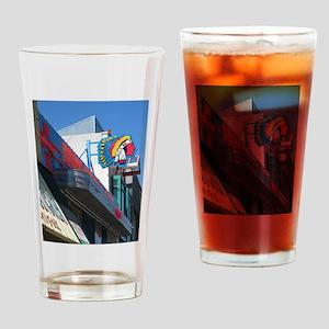 Albuquerque Street Scene Drinking Glass