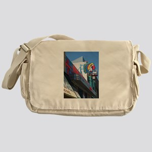 Albuquerque Street Scene Messenger Bag