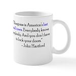 Hartford quote mug