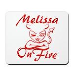 Melissa On Fire Mousepad