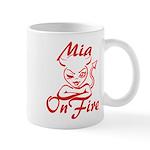 Mia On Fire Mug