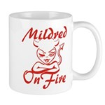 Mildred On Fire Mug