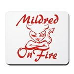 Mildred On Fire Mousepad