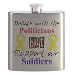 Debate Politicians Support So Flask
