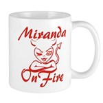 Miranda On Fire Mug
