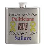 Debate Politicians but Suppor Flask