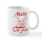 Molly On Fire Mug