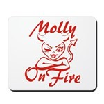 Molly On Fire Mousepad