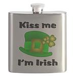 Kiss Me I'm Irish Hat Flask