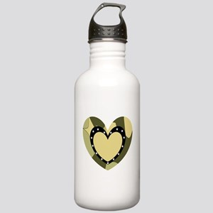Comuflage Army Heart Stainless Water Bottle 1.0L