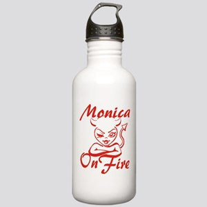 Monica On Fire Stainless Water Bottle 1.0L