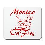 Monica On Fire Mousepad