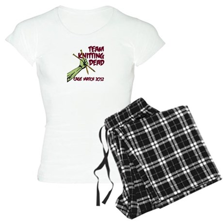 Team Knitting Dead Cage Match Women's Light Pajama