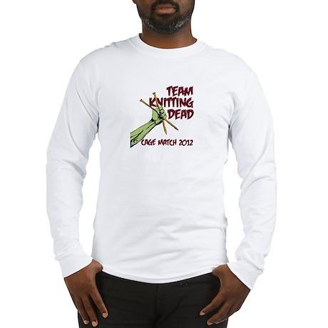 Team Knitting Dead Cage Match Long Sleeve T-Shirt