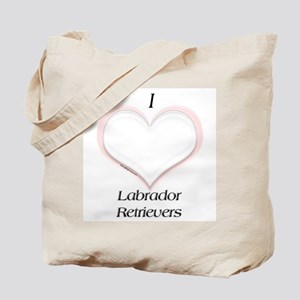 Lab Heart Tote Bag