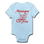 Monique On Fire Infant Bodysuit