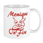 Monique On Fire Mug