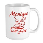 Monique On Fire Large Mug