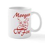 Morgan On Fire Mug