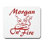 Morgan On Fire Mousepad