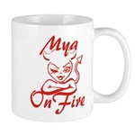 Mya On Fire Mug