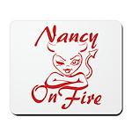 Nancy On Fire Mousepad