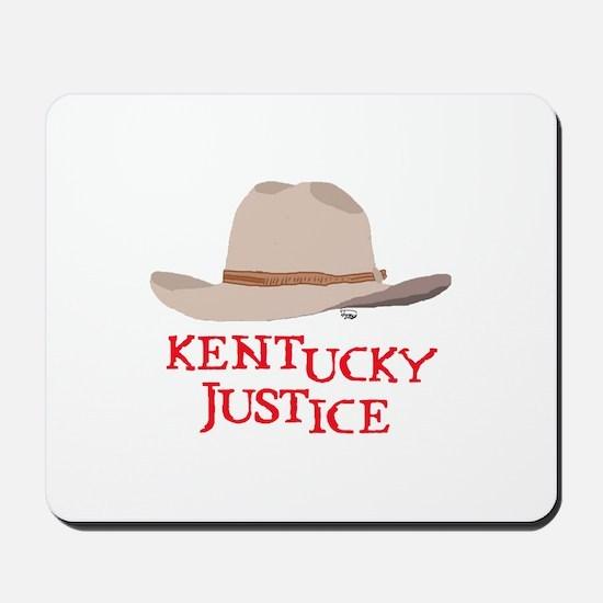 Kentucky Justice Mousepad
