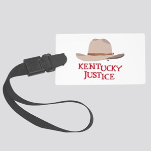 Kentucky Justice Large Luggage Tag