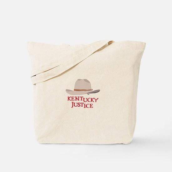 Kentucky Justice Tote Bag