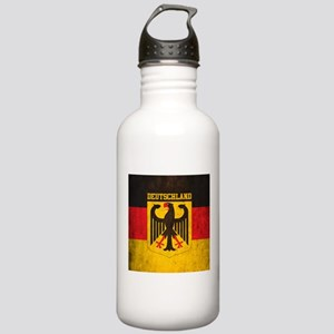 Grunge Germany Flag Stainless Water Bottle 1.0L